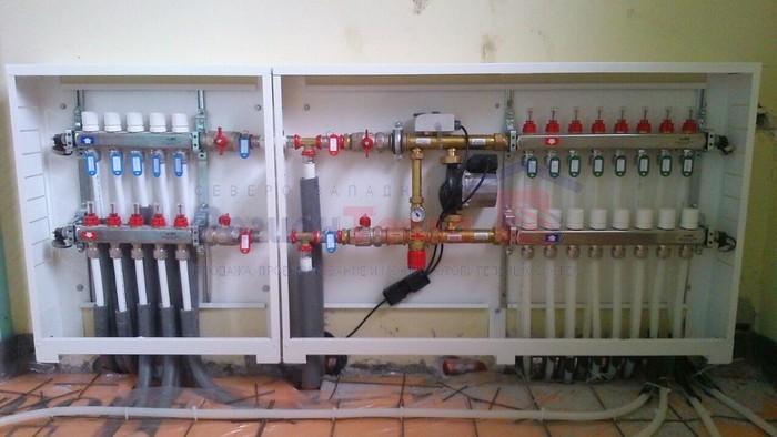 монтаж полипропиленового отопления
